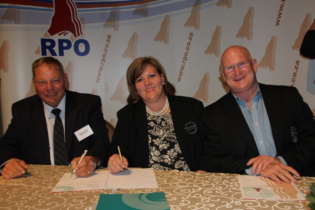 Signing of the RPO agreement